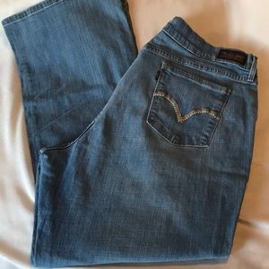 Levi's 515 bootcut stretch jeans